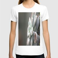 succulent T-shirts featuring Succulent by Inaereaedificare