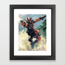 The Merc with the mouth Framed Art Print