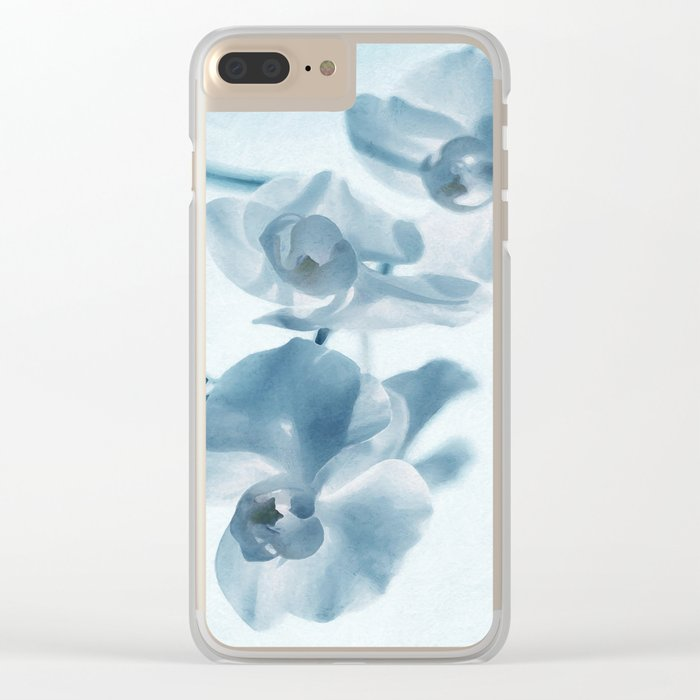 Orchid flowers Clear iPhone Case