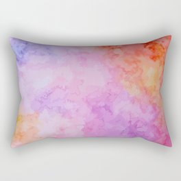 Soft Watercolor Rectangular Pillow