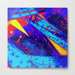 Crayola Cyphers Metal Print