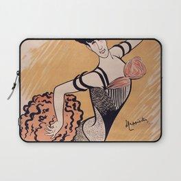 1902 - Leonetto Cappiello - Une Revue aux Folies-Bergere Louise Balthy - cabaret music hall - Lithograph  Laptop Sleeve