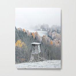 Tree Stand Metal Print