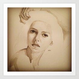Sarah 1 Art Print