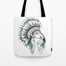 Indian Headdress Tote Bag