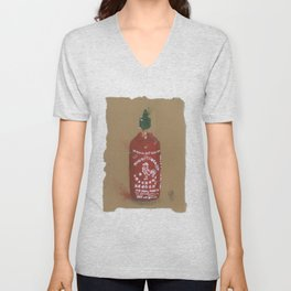 Sriracha Sauce - These are the things I use to define myself Unisex V-Neck