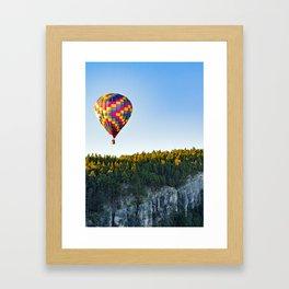 Stratobowl Framed Art Print