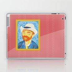 Selfie Van Gogh Laptop & iPad Skin