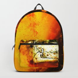 refreshing yeast wheat beer splatter watercolor Backpack