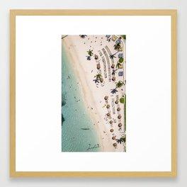 Summer Beaches Framed Art Print