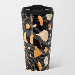 Snack Food Marble Travel Mug