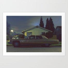 72' Cadillac Fleetwood Art Print