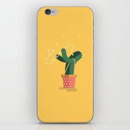 CACTUS BAND / The saxophone iPhone Skin
