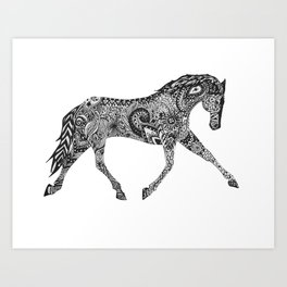 Paisley Pace Art Print