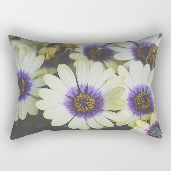 African Daisy Rectangular Pillow