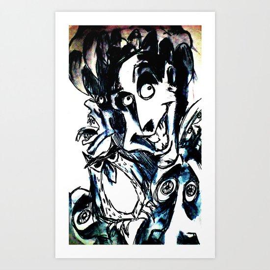 LIMBO (Ink Sketch) Art Print