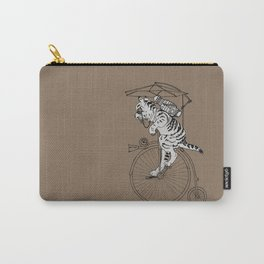 Steam Punk Tabby Cat Carry-All Pouch