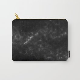black & white space Carry-All Pouch
