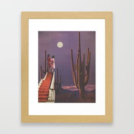 Under Desert Skies Framed Art Print