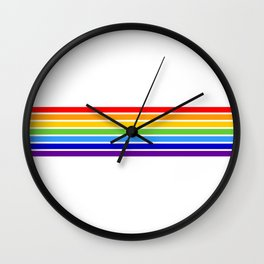 russia jewish flag Wall Clock