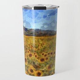 Vincent Van Gogh Sunflowers Travel Mug
