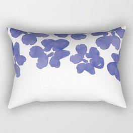 Sweet Pea's Petals  Rectangular Pillow