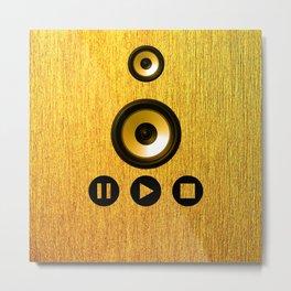 loudspeaker Metal Print