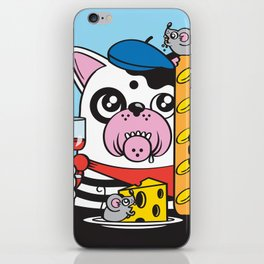 The Frenchie Connection iPhone Skin