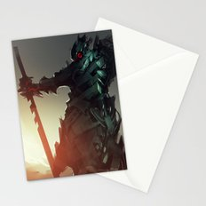 Dark Thorn King Stationery Cards