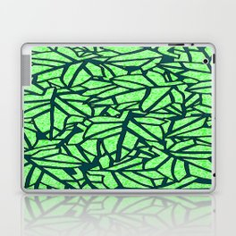 Leaves & swirls Laptop & iPad Skin