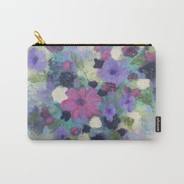 Spring Flower Bouquet Carry-All Pouch