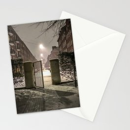 Winter is apparently already here Stationery Cards