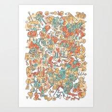 Schema 19 Art Print