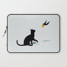 Cat and Snitch Laptop Sleeve