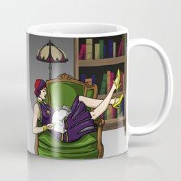 Well-Read Batgirl Coffee Mug