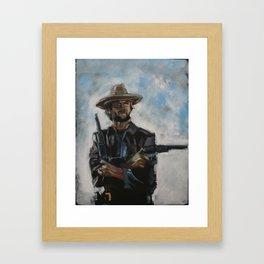 The Man From Malpaso Framed Art Print