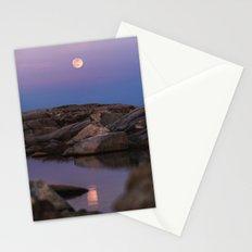 Full Moonrise Stationery Cards