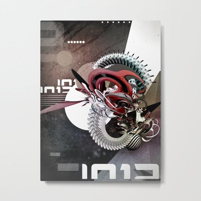 BZZSAWRMXX Metal Print
