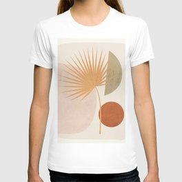 Tropical Leaf- Abstract Art 49a T-shirt