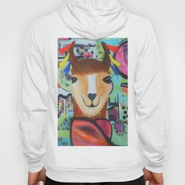 Llama Ready for the Carnaval Hoody