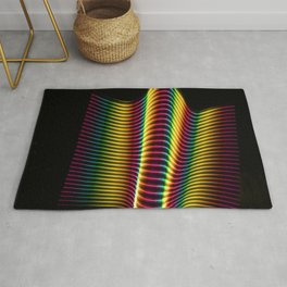 Wave of Light Two Rug