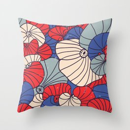 Japanese Pattern #5 Throw Pillow