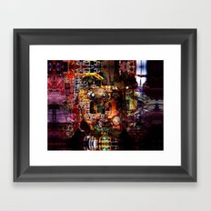 OR/WELL  CHIP Framed Art Print