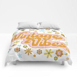 Vintage Vibes Comforters