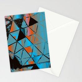 Molecular Glitch Stationery Cards
