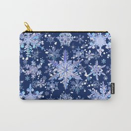 Snowflakes #3 Carry-All Pouch