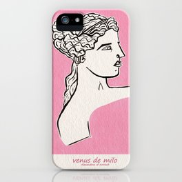 Venus de Milo statue iPhone Case