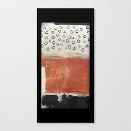 layered meditation Canvas Print