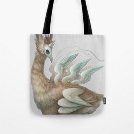 The Many-Winged Skullbird Tote Bag