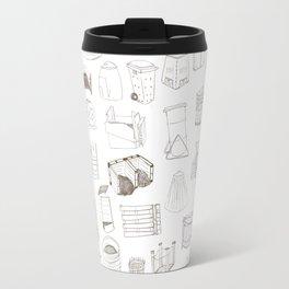 Cover, Contain, COMPOST- 1 of 3 Travel Mug